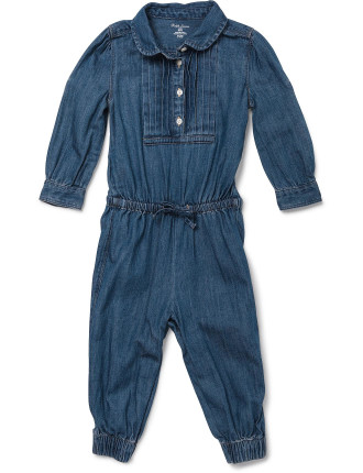Denim Coverall (0-24 Months)