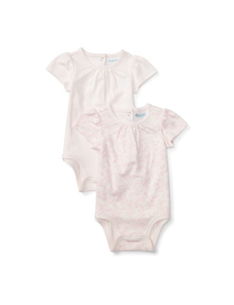 Short-Sleeve Bodysuit Set (0-24 Months)