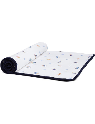 Polo Bear Cotton Blanket