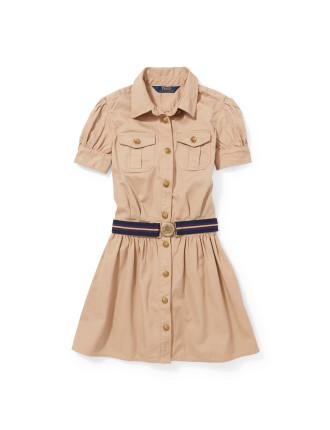 Chino Shirt Dress