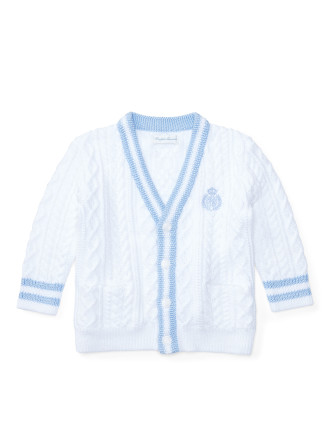 Cotton Cricket Cardigan (0-12 Months)