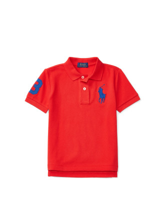 Cotton Mesh Polo Shirt (2-7 Years)
