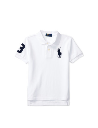 Cotton Mesh Polo Shirt (2-7 Years)