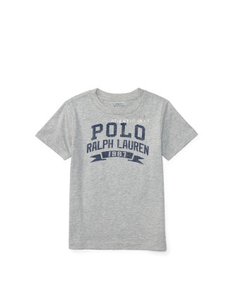 Cotton Jersey Graphic Tee (2-7 Years)
