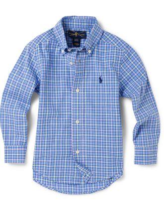 Cotton Poplin Shirt (2-7 Years)
