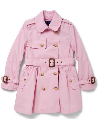 Cotton Poplin Trench Coat (2-7 Years)