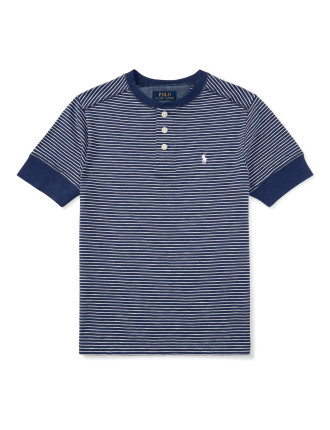 Cotton Mesh Polo Shirt (8-14 Years)
