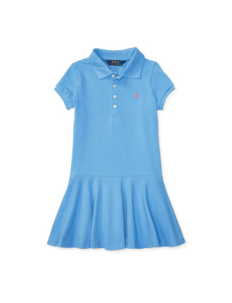 Short Sleeve Polo Dress (2-7 Years)