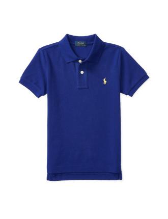 Cotton Mesh Polo Shirt (2-4 Years)