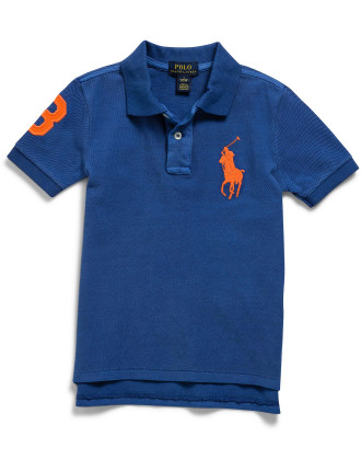 Cotton Mesh Polo Shirt (5-7 Years)