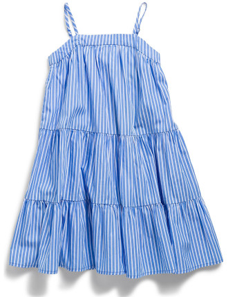 Sunfade Bengal Tiered Dress (2-7 Years)