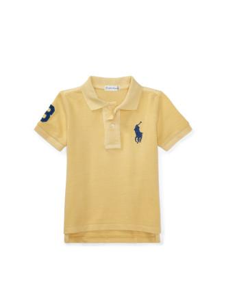 Cotton Mesh Polo Shirt (0-24 Months)