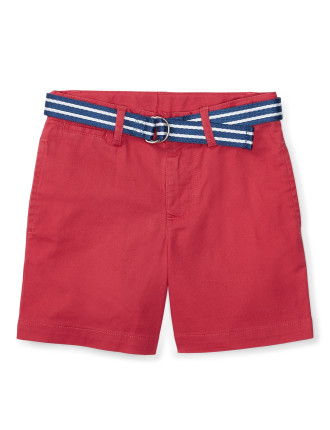 Belted Stretch Cotton Short (2-4 years)