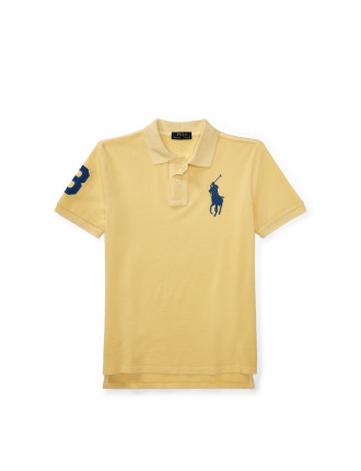 Cotton Mesh Polo Shirt (2-4 years)