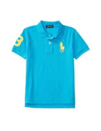 Cotton Mesh Polo Shirt (5-7 years)