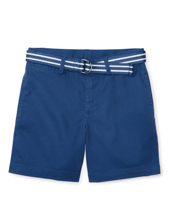 Belted Stretch Cotton Short (5-7 years)