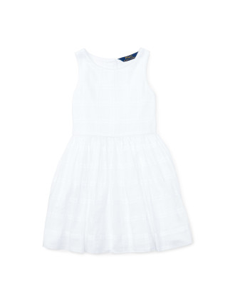Button Back Dress (2-7 Years)