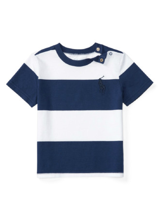 Striped Cotton Jersey Tee (0-24 Months)