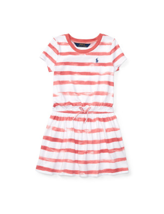 Striped Jersey Tee Dress (2-7 Years)