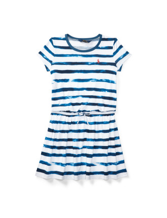 Striped Jersey Tee Dress (8-14 Years)