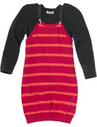 Stripe Braces 2fa Dress $14.98