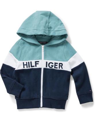 Colorblock Zip L/S Sweatshirt (Boys 3-7 Years)