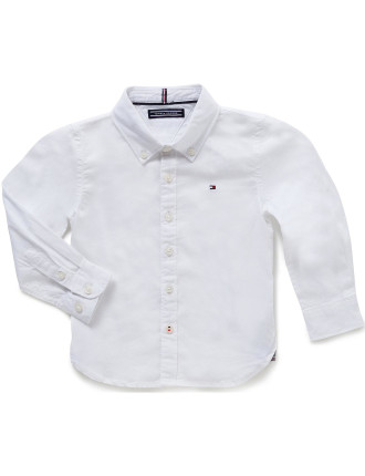 Ame Stretch L/S Oxford Shirt (Boys 3-7 Years)