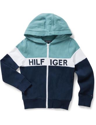 Colorblock Zip L/S Sweatshirt (Boys 8-14 Years)