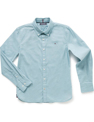 Ame Stretch L/S Oxford Shirt (Boys 8-14 Years)