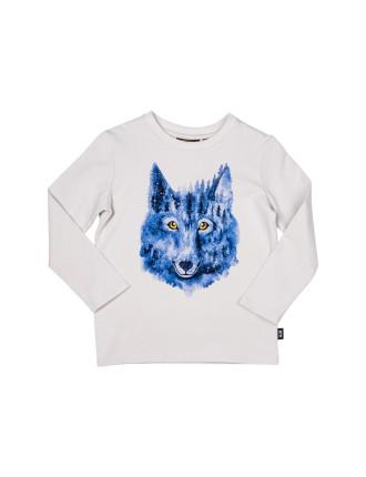 Night Wolf L/S Tee (Boys 3-8 Years)