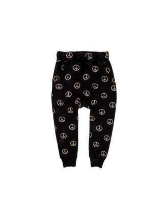 Peace Out Slouch Pants (Boys 3-8 Years)