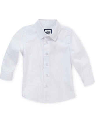 Plain Poplin Dress Shirt