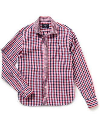 Large Two Col Gingham Y