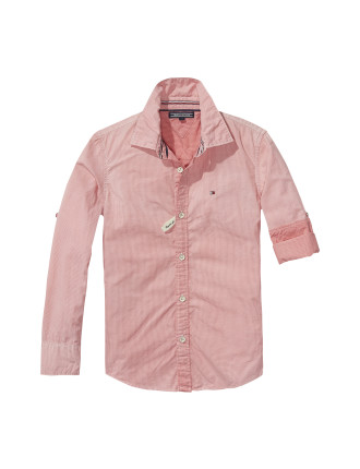 Ame Mini Check + Spray Shirt L/S