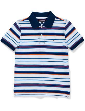 Ame Stripe Polo S/S