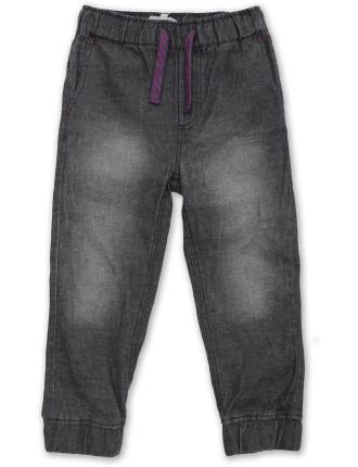 Drop Crotch Denim Pant