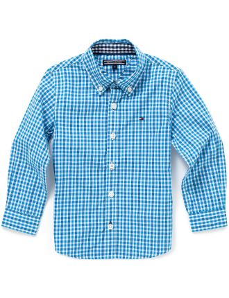 Gingham Shirt L/S