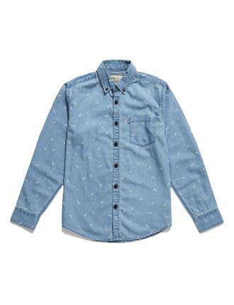 Pine Chambray Shirt