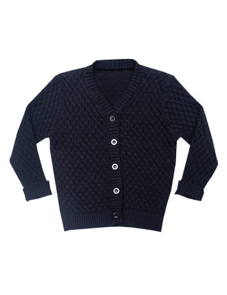 True Knit Ls Cardigan