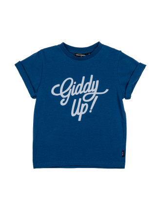 Giddy Up SS Tee (Boys 3-8 Yrs)