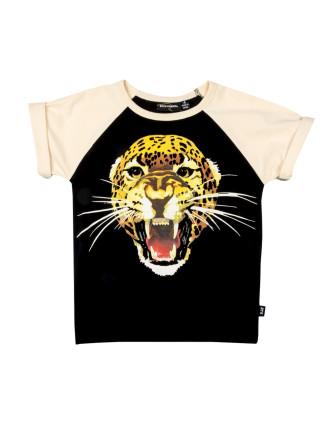 Rock N Roll Leopard Ss Tee