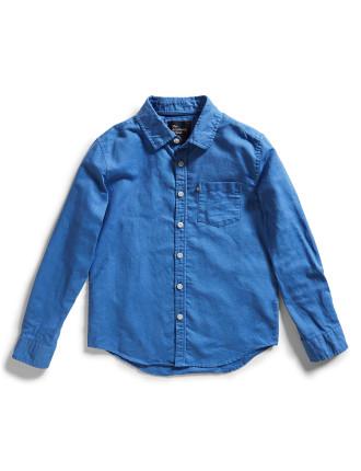 Hampton Linen Shirt (8-16 Years)