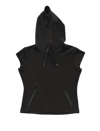 Muscle Short Sleeve Hoodie