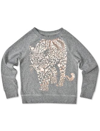 Cheetah L/S Tee