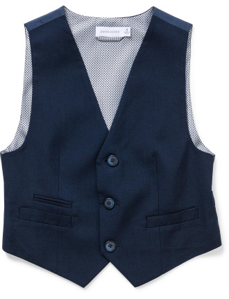 DAVID JONES TAILORED VEST (8-14 Years)