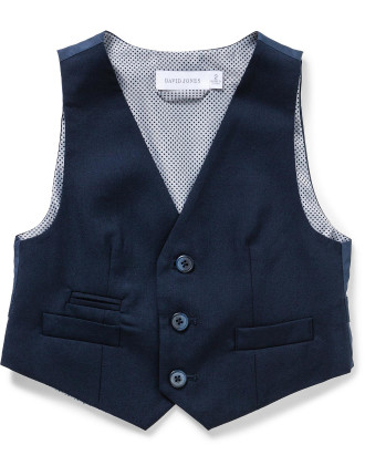 DAVID JONES TAILORED VEST (2-7 Years)