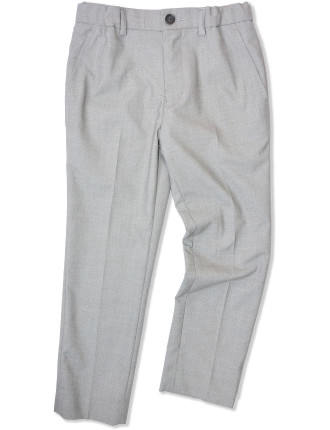 Indie & Co Formal Pant - Silver - 2-7