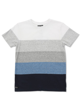 Block Tee (Boys 3-7 Yrs)