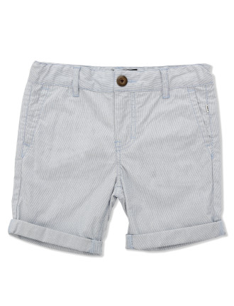 Ticking Stripe Short (Boys 3-7 Yrs)