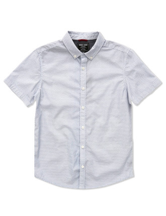 Geo Print Shirt (Boys 8-14 Years)